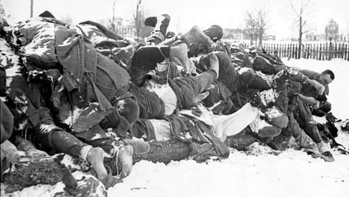 Предпраздничное: Согласно рассекреченным данным... потери Советского союза во Второй мировой войне составляют 41 миллион 979 тысяч