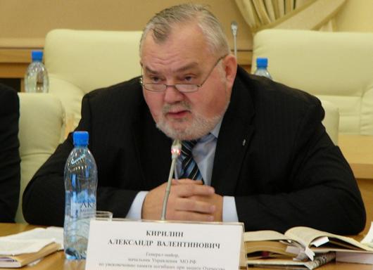 А.В. Кирилин, генерал-майор