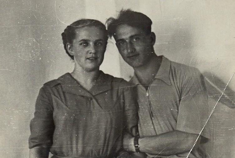 Александра и Владимир Савенко