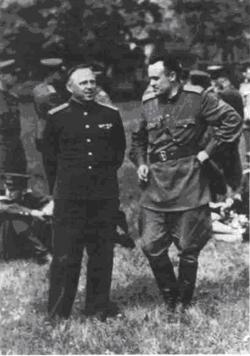 «Подполковник» С.П. Королев в Германии, 1946 г.