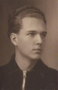 Георгий Крауклис, 1940 год, перед уходом в Армию