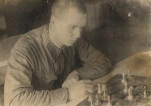 В армии на Дальнем Востоке. За шахматами, май 1941 год