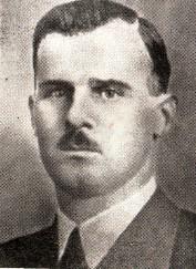 Д-р Ирмфрид Эберле, руководитель специальной команды СС в Бернбурге