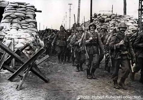 Румынские солдаты в Одессе.