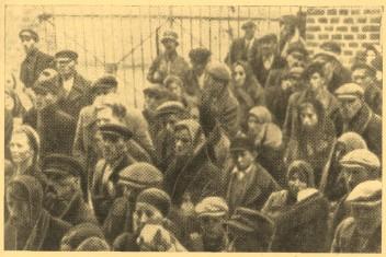 Июль 1943 г. Массовый угон населения округа Билгорой.
