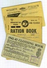 Книжки талонов на одежду, продовольствие и бензин