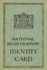 Обложка удостоверения личности гражданина с 16 лет (около 1943г.)