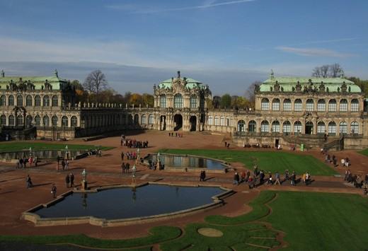 Комплекс Цвингера, Дрезден
