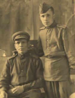Мишин с сыном Николаем