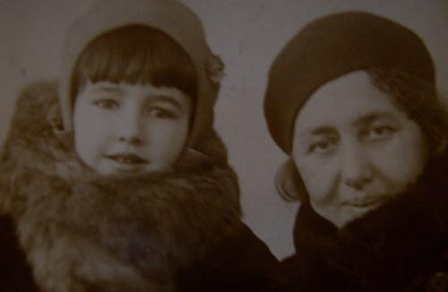 Инга с бабушкой Ревеккой