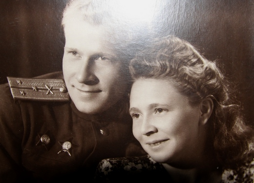 Лариса Сергеевна с мужем