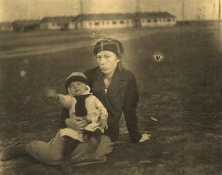 Ольга Андреевна Аристова с дочерью Лорой