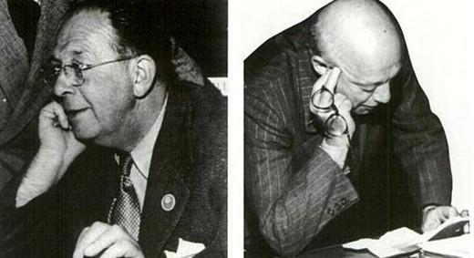 Братья Жорж (слева) и Андре (справа) Каминкеры