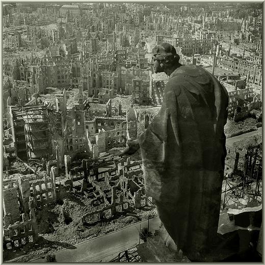 Дрезден 13 февраля 1945 года.
