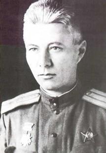 Майор Е.М. Сергеев. Март 1943 г. Сталинград