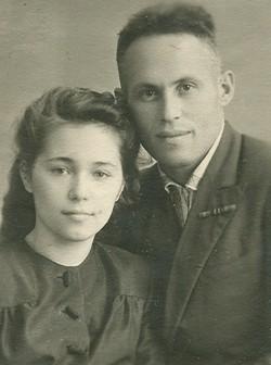 Лидия Терская с мужем