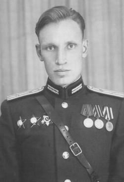 А.А. Матвеев, 1950 год.