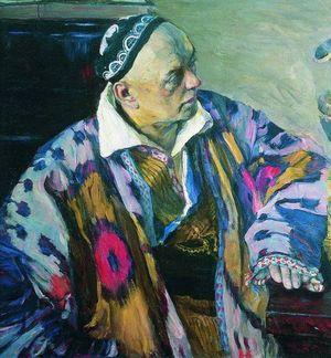 Алексей Викторович Щусев на портрете кисти Михаила Нестерова