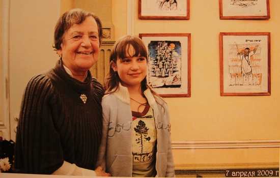 Лилия Николаевна с племянницей