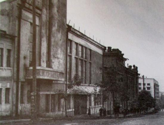 Клуб имени С.Орджоникидзе в Свердловске, где находился Эрмитаж с 1941-1944 гг.