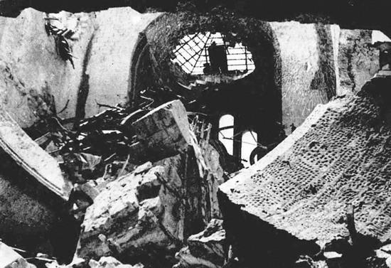 Здание Севастопольской панорамы. 1944 г.