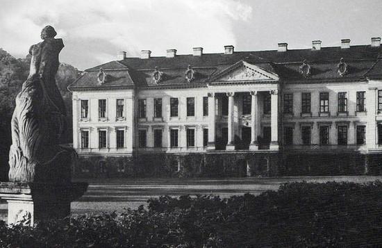 Усадебный дом Фридрихштайн. Фото 1927 г.