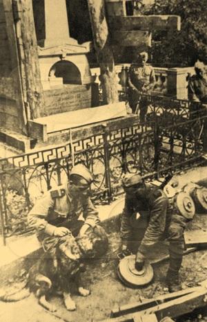 Заминированная могила А.С.Пушкина