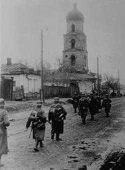 Оккупированный Харьков, 1941 г.