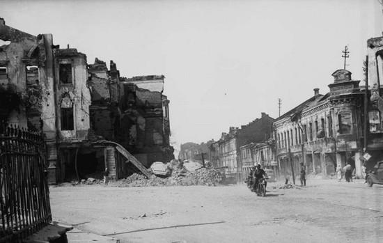 Центральная улица г.Минска, 1941 г