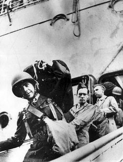 Первый американский солдат ступил на землю Новой Зеландии