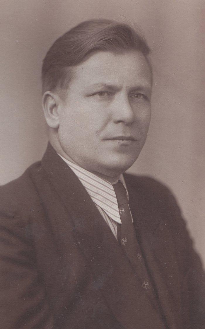 Александр Иванович Груздев. Фото 1950-х гг.