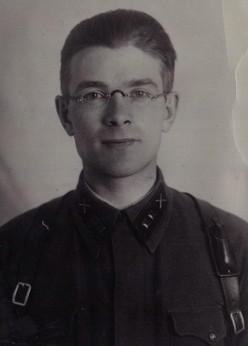 Михаил Иванович Кузнецов. Фото 1941-42 гг.