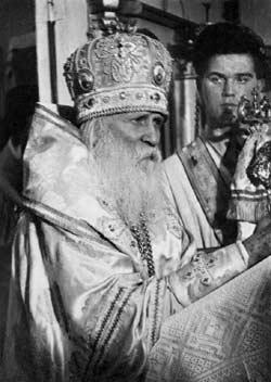 Митрополит Вениамин (Федченков), Экзарх Московской Патриаршей Церкви