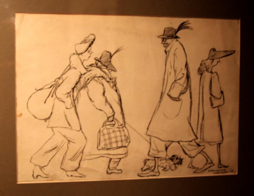 Н.Соколов Жители Нюрнберга, 1945.