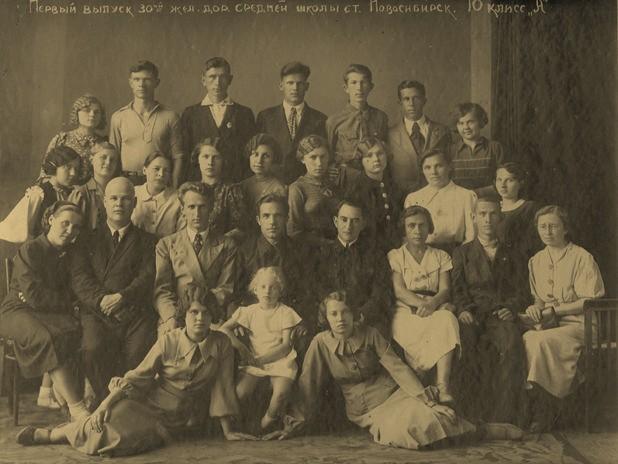 В верхнем ряду3-й справа - Серебряков Борис