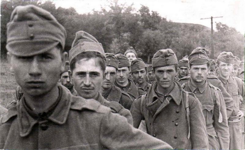 Венгерские военнопленные, 1942 г.