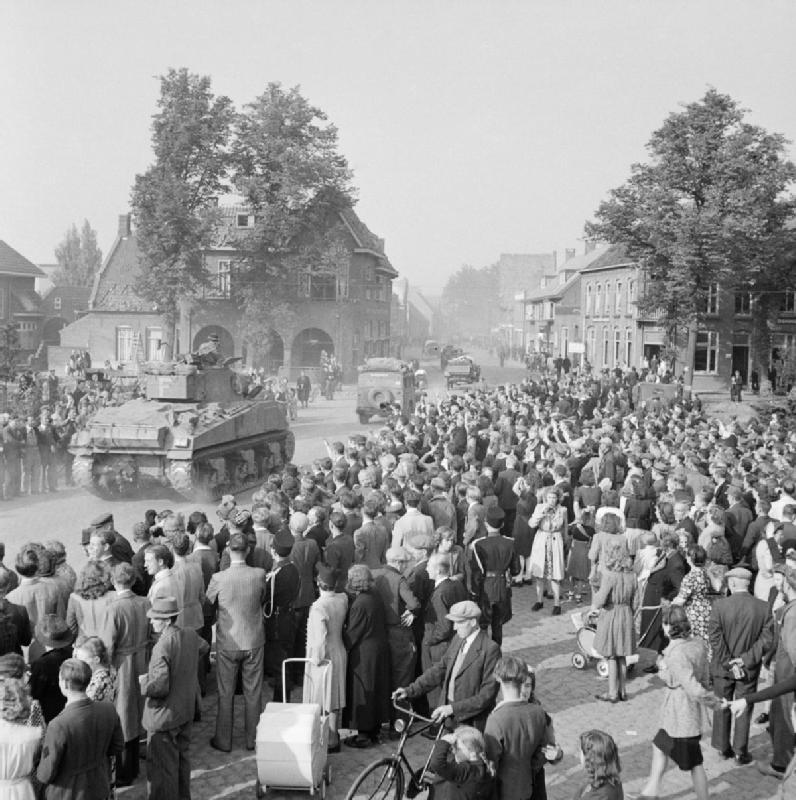 Валкенсвард, Голландия, 18 сентября 1944.