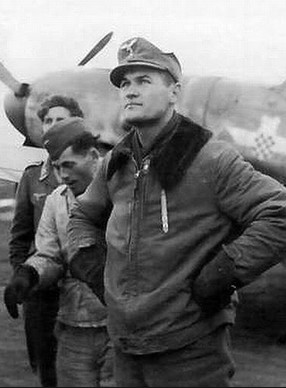 Мато Дуковац - (1918-1990) хорватский лётчик-ас Второй мировой войны