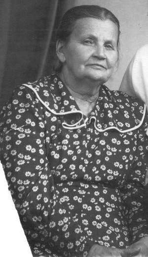 Елена Николаевна Левандовская. Фотография ок. 1956 г.