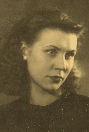 Людмила, Москва, 1946 г.