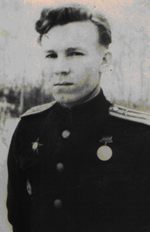 Командир 28 ОГМД гв. майор Михайлов Константин Кириллович, 1943 г.
