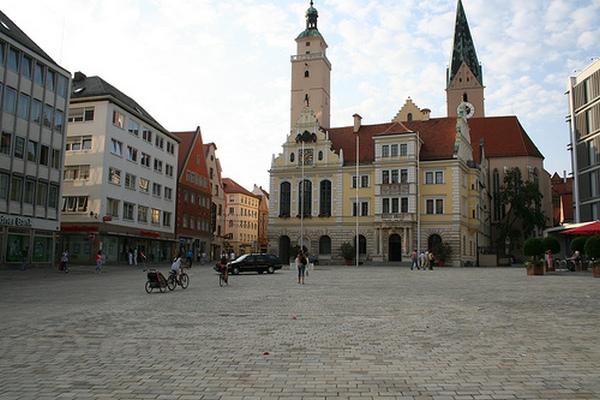 Город Ингельштадт. Современный вид.