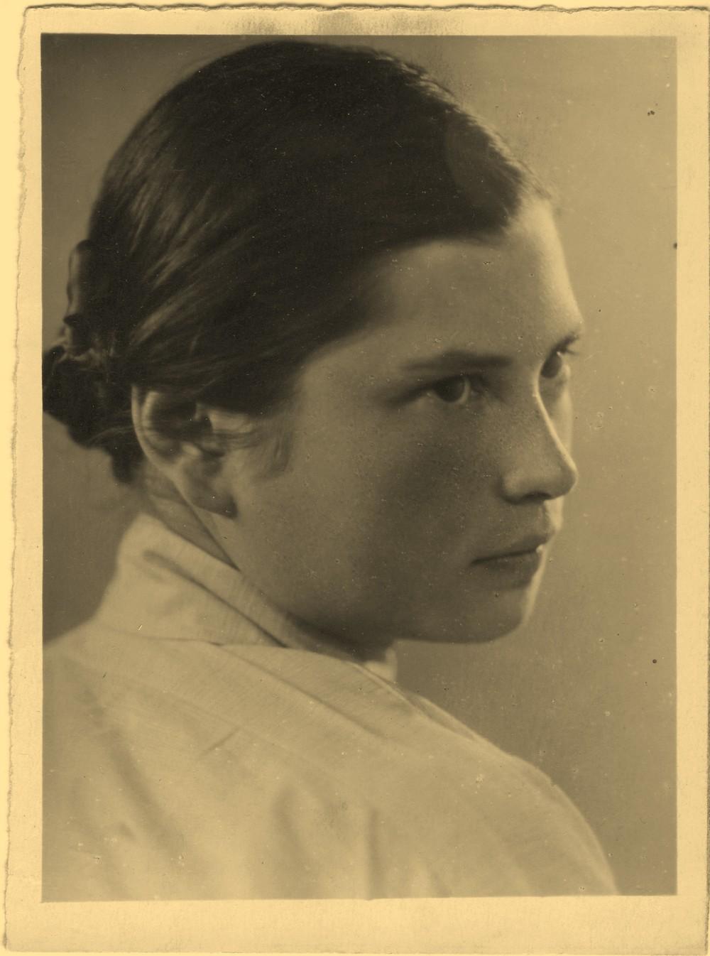 Ирина Григорьева. Ленинград, 1946 – 1947 гг.