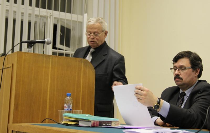 Выступление Субетто Александра Ивановича