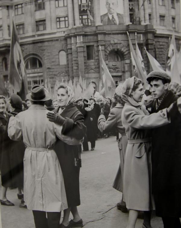 Празднование 41-ой годовщины Великой Октябрьской социалистической революции в Москве, 1958 г.