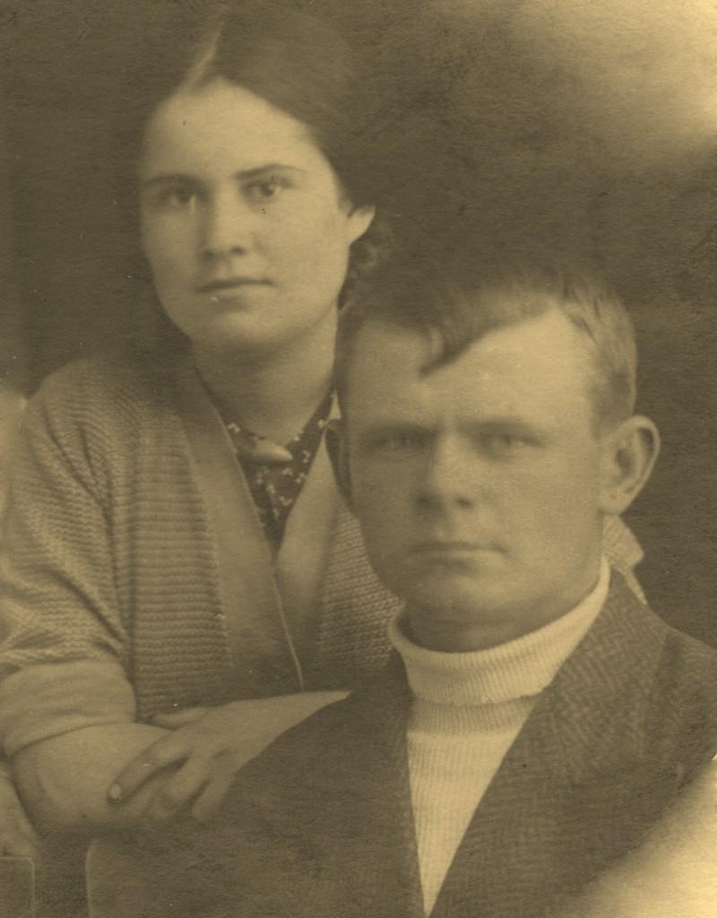 Николай с женой Валей