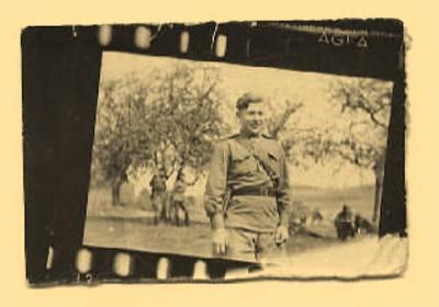 В. Бабич. Снимок сделан в Вене, 1944.