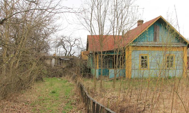 Современный вид дома дедушки и бабушки, в котором жил до своей смерти их сын Владимир. Фото 2016 г.