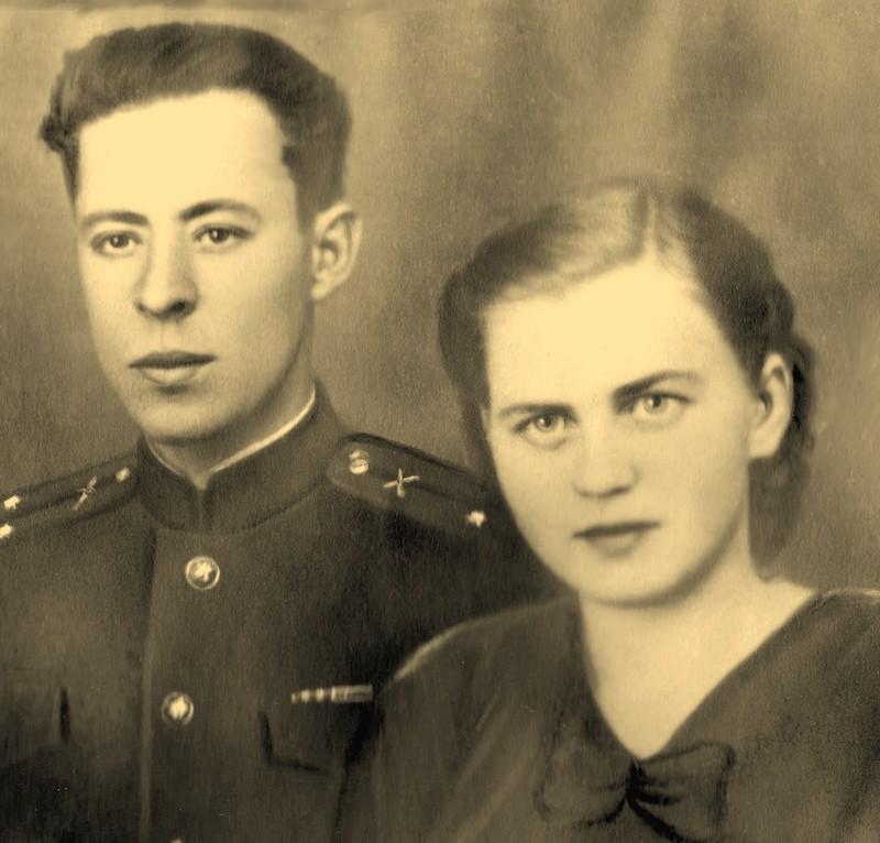 Иван Кузьмич и Екатерина Петровна Максаевы