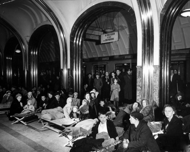 Московское метро, 1941 г.
